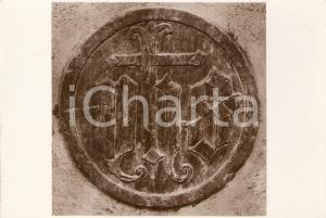 1960 ca CUNEO Parrocchia SANTA MARIA Monogramma di GESU' *Cartolina FG NV