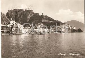 1966 AMALFI (NA) Panorama della città *Cartolina FG VG