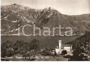 1953 MAGREGLIO (CO) Chiesetta Madonna del GHISALLO *Cartolina FG VG