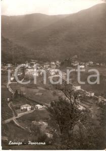 1952 LASNIGO (CO) Panorama del paese *Cartolina FG VG