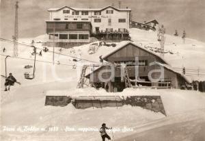 1963 BARZIO (LC) Piani di BOBBIO Rifugio SORA e seggiovia *Cartolina FG VG