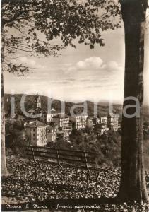 1956 MOSSO SANTA MARIA (BI) Scorcio panoramico *Cartolina FG VG