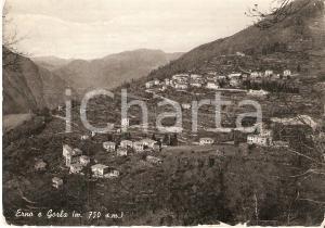1955 ca VELESO (CO) Frazioni di ERNO e GORLA Panorama *Cartolina FG VG