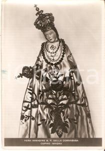 1954 CEPINO (BG) Statua della Beata Vergine della CORNABUSA *Cartolina FG NV