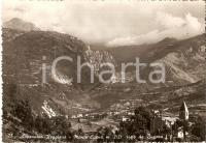 1952 APPENNINO REGGIANO Monte CUSNA visto da BUSANA *Cartolina FG VG
