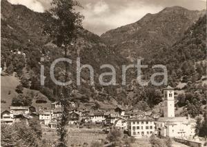 1955 ca BOCCIOLETO (VC) Panorama del paese *Cartolina FG VG