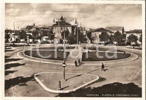 1940 VOGHERA (PV) Piazzale Costanzo Ciano *Cartolina FG VG
