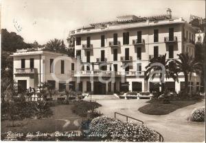 1955 BORDIGHERA (IM) Albergo Jolanda - Riviera dei fiori *Cartolina FG VG