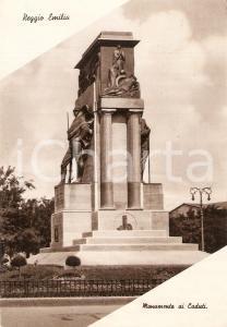 1940 REGGIO EMILIA Monumento ai Caduti *Cartolina FG VG
