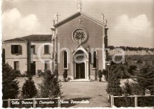 1963 VILLA MARINA DI CESENATICO (FC) Chiesa parrocchiale *Cartolina FG VG