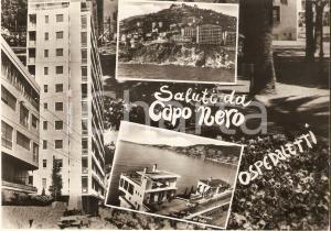 1963 OSPEDALETTI (IM) Vedutine del golfo di CAPO NERO *Cartolina FG VG