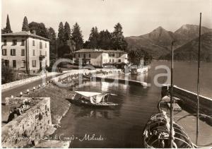 1959 ACQUASERIA (CO) Batell sul Lago di Como *Cartolina FG VG