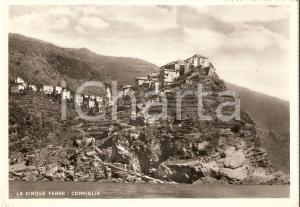1959 VERNAZZA (SP) Frazione CORNIGLIA Cinque Terre *Cartolina FG VG