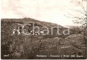 1959 MONTEGRINO VALTRAVAGLIA (VA) Panorama con Monte Sette Termini *Cartolina FG