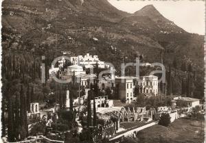 1960 ca GARDONE RIVIERA (BS) Panorama Vittoriale degli Italiani *Cartolina FG NV