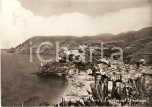 1963 MONTEROSSO AL MARE (SP) Panorama del paese *Cartolina FG VG