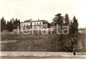 1955 ca GRANDATE (CO) Panorama del Monastero San Salvatore*Cartolina FG VG
