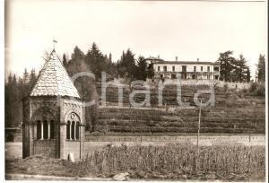 1955 ca GRANDATE (CO) Panorama del Monastero San Salvatore *Cartolina FG VG
