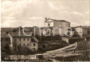 1956 SALA BIELLESE (BI) Panorama con Chiesa Parrocchiale *Cartolina FG VG