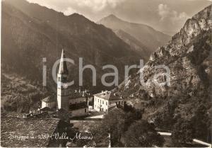 1956 STROPPO (CN) Panorama Valle Macra *Cartolina FG VG