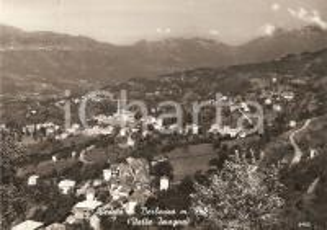 1960 BERBENNO (BG) Panorama con Valle Imagna *Cartolina FG VG