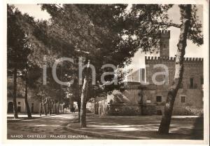 1959 NARDO' (LE) Castello e Palazzo Comunale *Cartolina FG VG