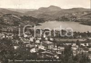 1955 BADI (BO) Panorama con Lago di Suviana *Cartolina FG VG