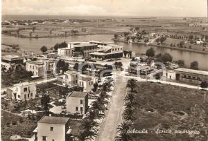 194 SABAUDIA (LT) Scorcio panoramico *Cartolina FG VG