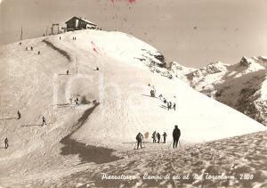 1960 ca PIAZZATORRE (BG) Campi di sci al Monte Torcola *Cartolina FG VG
