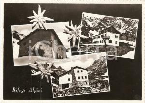 1955 ALTA VAL SERIANA (BG) Rifugio Brunone - Rifugio Coca *Cartolina FG VG