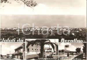 1961 BOVALINO (RC) Vedutine con Industria compensati e trinciati Cartolina FG VG