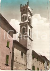 1955 ca PERGOLA (PU) La Torre  *Cartolina FG VG