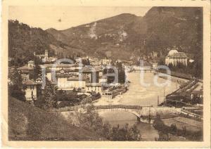 1939 SAN PELLEGRINO TERME (BG) Panorama del paese *Cartolina FG VG