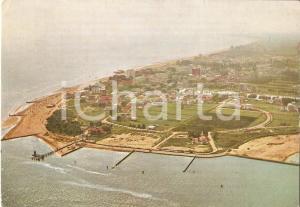 1966 LIGNANO SABBIADORO (UD) Panorama aereo *Cartolina FG VG