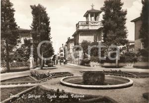 1959 PORTO SAN GIORGIO (FM) Biciclette in Viale della Vittoria *Cartolina FG VG