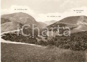 1955 ca SIGILLO (PG) Frazione VAL DI RANCO Monte Cucco *Cartolina FG NV