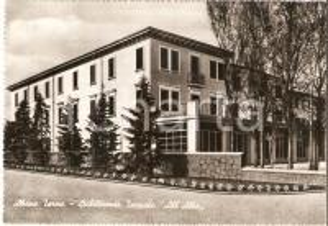 1953 ABANO TERME (PD) Stabilimento termale All'Alba *Cartolina FG VG