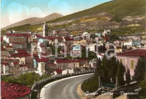 1964 GUALDO TADINO (PG) Panorama del paese *Cartolina FG VG