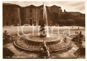 1959 ROMA Piazza Esedra - Fontana delle Naiadi *Cartolina FG VG