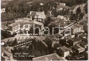 1967 ABANO TERME (PD) Via Pietro d'Abano - Veduta aerea *Cartolina FG VG
