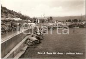 1960 BOCCA DI MAGRA (SP) Stabilimenti balneari *Cartolina FG VG