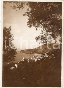 1938 COGOLETO (GE) Panorama con il golfo *Cartolina FG VG