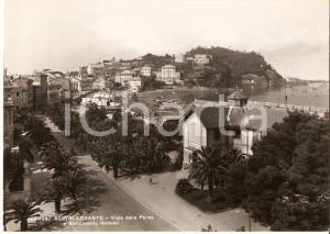 1951 SESTRI LEVANTE (GE) Stabilimento Nettuno Viale delle Palme *Cartolina FG VG