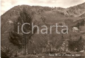 1952 PARCO MONTE SAN PRIMO (CO) Ristorante CHALET SELVA *Cartolina FG VG