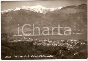 1955 ca PORTO VALTRAVAGLIA (VA) Panorama frazione NASCA *Cartolina FG VG