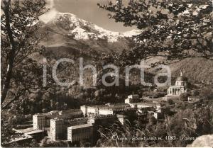1955 BIELLA Panorama Santuario di OROPA *Cartolina FG VG