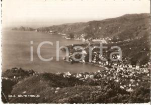 1948 GENOVA Panorama Golfo del TIGULLIO *Cartolina FG VG