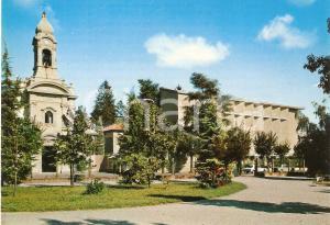 1965 ca BUSTO ARSIZIO Chiesa San Giuseppe e Padiglione geriatrico *Cartolina FG