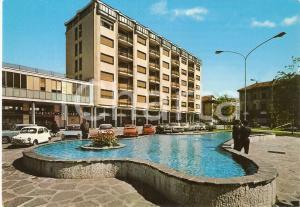 1965 ca BUSTO ARSIZIO (VA) Piazza San Michele e SUPERCOOP *Cartolina FG NV