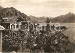 1959 MENAGGIO (CO) Asilo degli ulivi e lago di Como *Cartolina FG VG